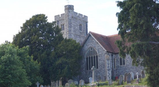 Picture of Boughton Church