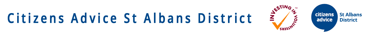 A picture of the St Albans citizens advice logo